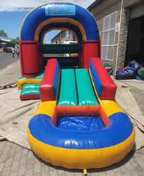 Combo Bouncer Jumping Castle with Roof for Hire in Gordons Bay, Strand, and Somerset West.