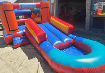 Combo Jumping Castle Bouncer for Hire in Gordons Bay, Strand, and Somerset West.