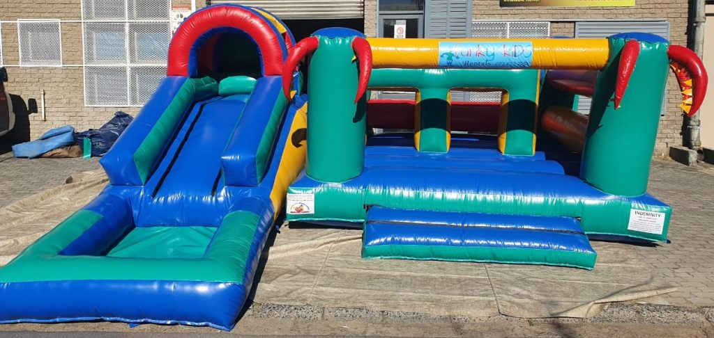 Jungle Gym Jumping Castle for Hire in Gordons Bay, Strand, and Somerset West.