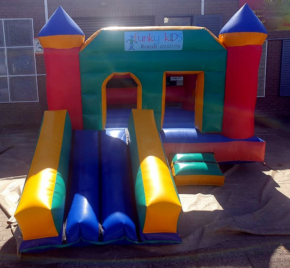 Variety Combo Inflatable Slide for Hire in Gordons Bay, Strand, and Somerset West